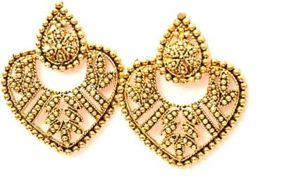 Fashion Era Golden spufish Metal Stud Earring