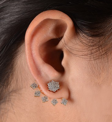 Zephyrr Alloy Clip-on Earring