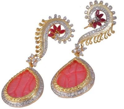 Jewar Mandi Unique Earrings Metal Drop Earring