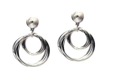 FASHION ERA Silver Beauty Metal Drop Earring