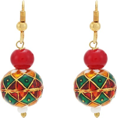 Happy States Color Spark Metal Drop Earring