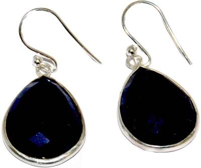 Arvino Two Teardrops Lapis Lazuli Sterling Silver Dangle Earring