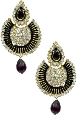 Shine My Life Bloom Alloy Chandbali Earring