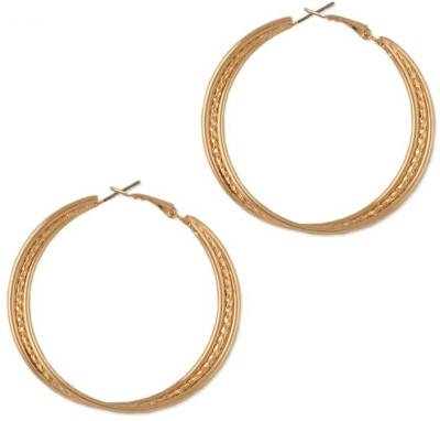 Circuzz Alloy Hoop Earring