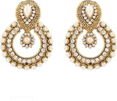 Foxy Trend Stunning Look Alloy Chandbali Earring