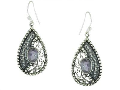 Miska Silver Phentom Silver Dangle Earring