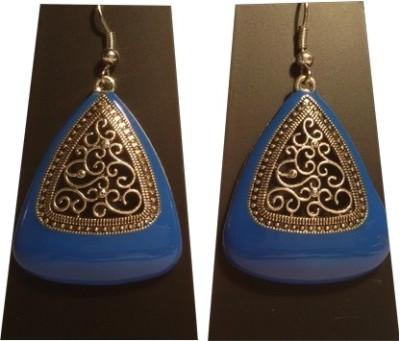Trendz Mart Global Festive Danglers Metal Dangle Earring