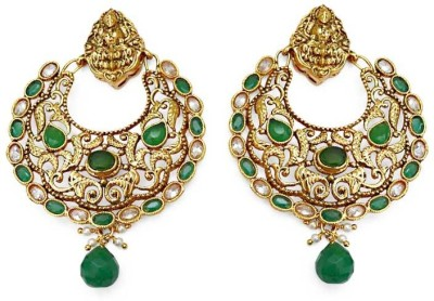 Jewelfin Elegant Alloy Chandbali Earring
