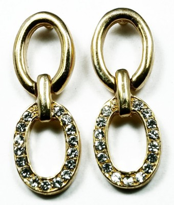 Kanishq 24K GOLD PLATED EARING Alloy Drop Earring