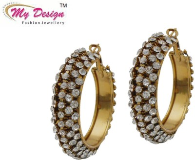My Design Gold Plated Alloy Clip-on Earring