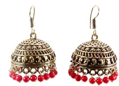 Shiv Kutumb Big Metal Jhumki Earring