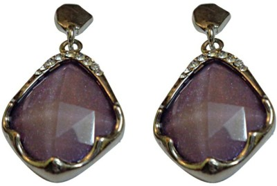 NM Products Purple Plus Copper Drop Earring