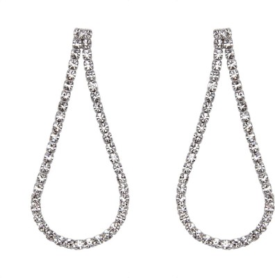 Soleti Sparkle Rope Alloy Drop Earring