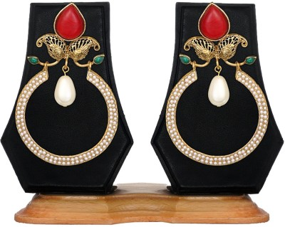 Zaveri Pearls Ethnic Diva Traditional Zinc Chandelier Earring