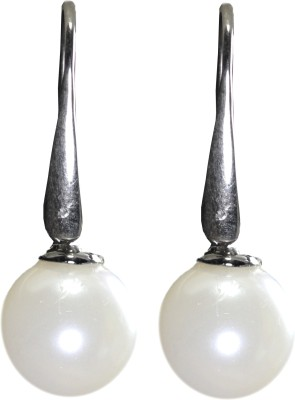 Pearl Paradise Pearl ear hanging. Pearl Silver Dangle Earring