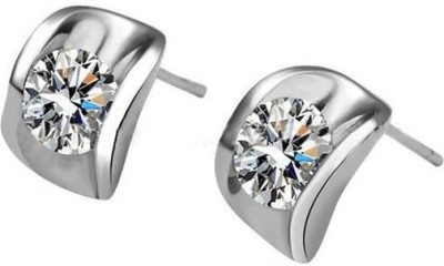 Amour Charming Zircon Alloy Stud Earring