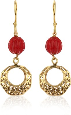 Thingalicious Moroccan Inspired Trendy Alloy Dangle Earring