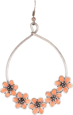 Sanida Flowers Metal Dangle Earring