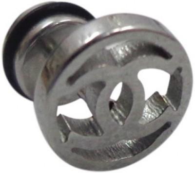 Little Goa Double C Stainless Steel Stud Metal Stud Earring
