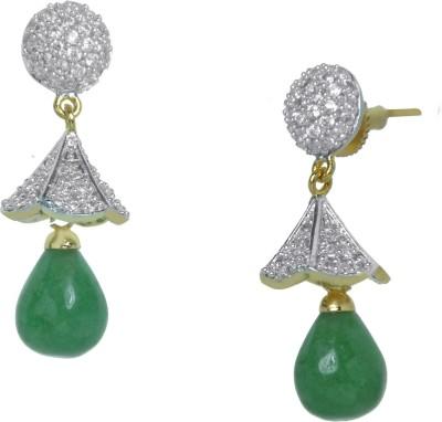 Orolush Brass Drop Earring