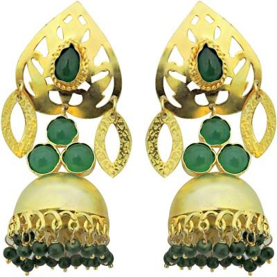 Cultural Fusion Maharani jhumki Alloy Jhumki Earring