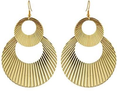 TrinketsANDTreasures Golden Alloy Drop Earring