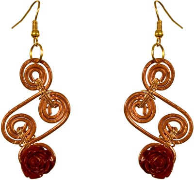 Retaaz Rame Ardour Copper, Acrylic, Alloy Dangle Earring