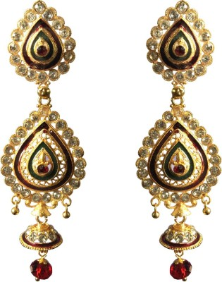 Fashion Frill Long Last Alloy Jhumki Earring