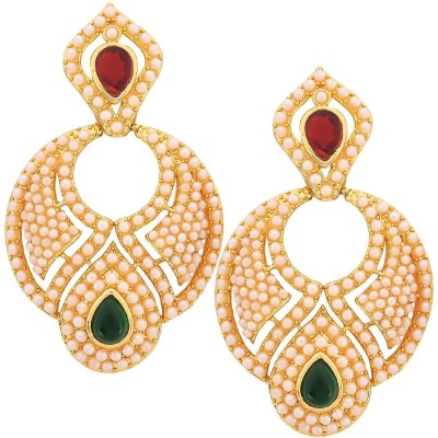Maayra Lovely Pure Dove Copper Drop Earring
