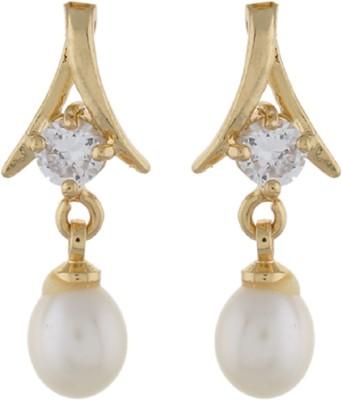 Classique DesignerJewellery Designer Pearl Alloy Dangle Earring