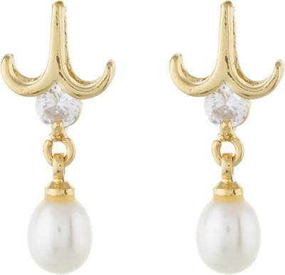 Classique DesignerJewellery Ethinc Pearl Alloy Dangle Earring