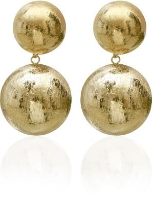 Saraa Spring Sparkle Cubic Zirconia Metal Drop Earring