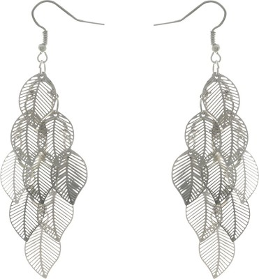 One Stop Fashion Unique And Stylish Silver Colour Alloy Dangle Earring