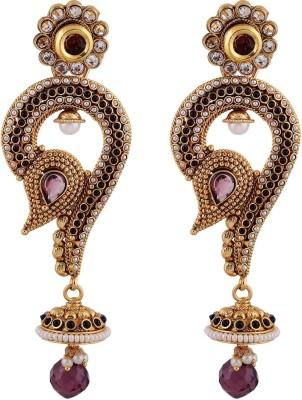 Bhagvathi Pearls Brass Jhumki Earring