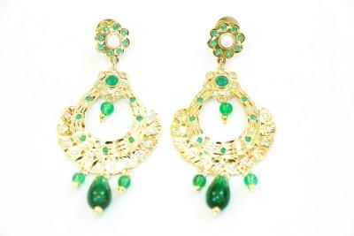 Jiya Fashion Pretties Metal Chandbali Earring