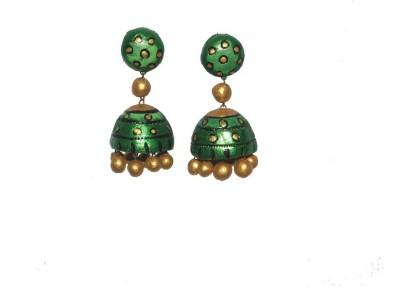 Aanya Creations Fashion Ceramic Jhumki Earring