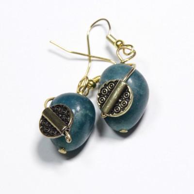 Karukala STN-1 Stone, Alloy Dangle Earring
