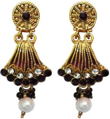 Shreya Collection Spring Sparkle Alloy, Metal Dangle Earring