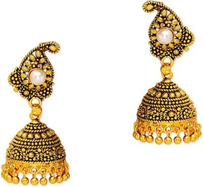 Prita Designer Ethnic Alloy Jhumki Earring