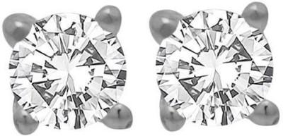 Factorywala SUPERIOR SWAROVSKI EMBELLISHED STERLING 92.5 Silver Stud Earring