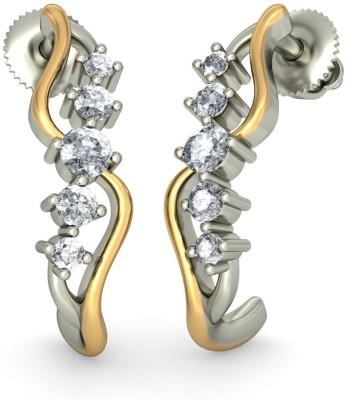 Joyra Superb Swarovski Zirconia Sterling Silver Drop Earring