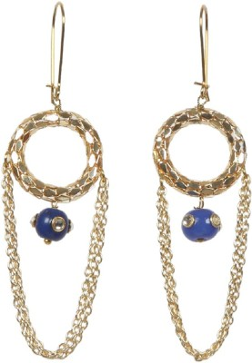 Envy Fancy Brass Dangle Earring