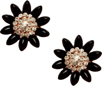 20Dresses Amongst The Flowers Zircon Metal Stud Earring