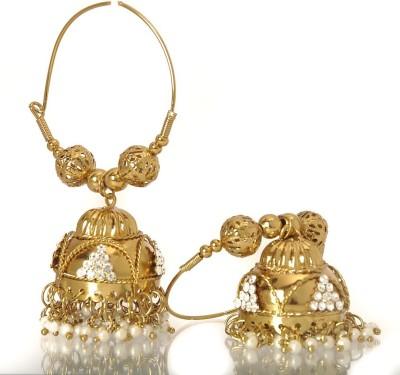 Adorn Antique Copper Jhumki Earring