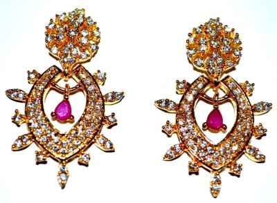 Crazy Carting Beauty Fashion 456 Zircon Alloy Drop Earring