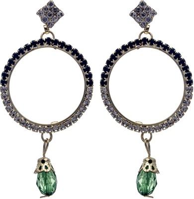 Silverkartz Princess Delight Cubic Zirconia Alloy Chandelier Earring