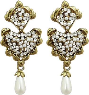 Aura Collection Stylish Alloy Drop Earring