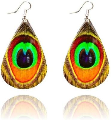 FashBlush Forever New Peacock Glamor Summer Alloy Dangle Earring