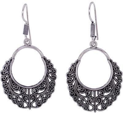 Silvery ME-13-MN Metal Dangle Earring