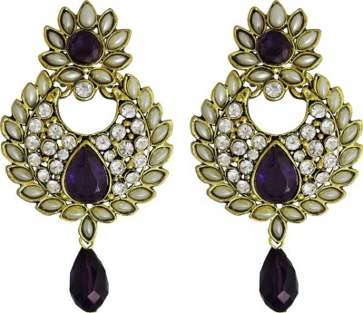 Aura Collection Statement34 Alloy Chandbali Earring